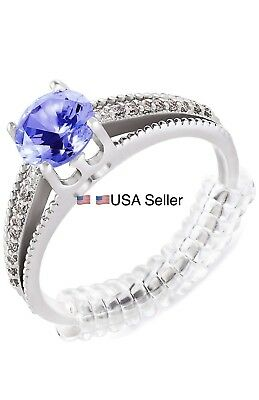 4X Ring Size Adjuster Invisible Clear Ring Sizer Jewelry Fit Reducer Guard