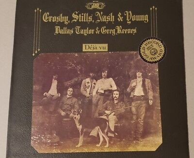 "1970 Crosby Stills Nash and Young ""Deja Vu""  Vinyl LP Record"