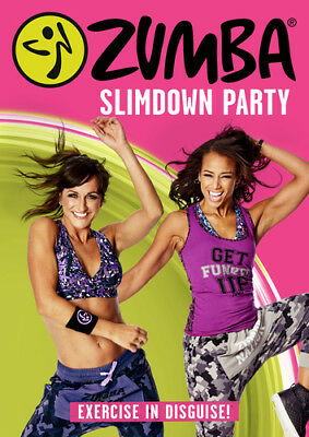 Zumba Slimdown Party DVD (2016) Beto Perez cert E 2 discs ***NEW*** Great Value
