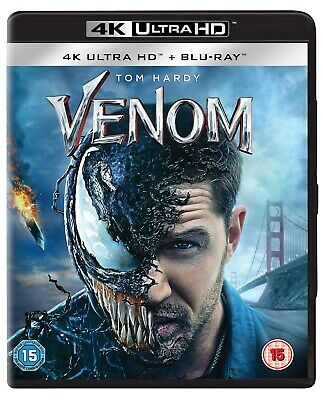 Venom (2018) (4K Ultra HD + Blu-ray) [UHD]