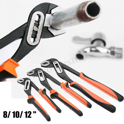 "8"" Alligator Wrench Pliers 7 Files Multifunction Jaw Water Pump Grips"