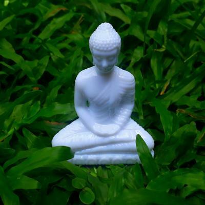 Sakyamuni Buddha Meditative Resin Sandstone Seated Statue Furnishing Article