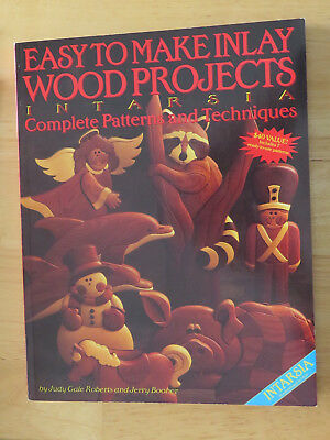 Inlay Wood Projects - Intarsia, by Roberts & Boober, Woodcarving, Scroll Saw