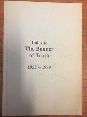 The Banner of Truth magazine, Index for 1955 to 1989