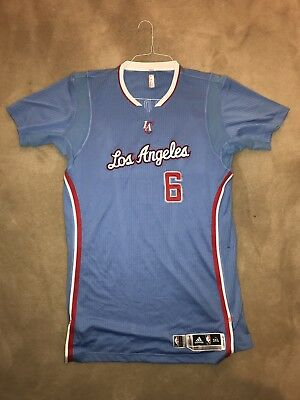 a7a38c24608a DEANDRE JORDAN GAME Worn Used Los Angeles Clippers Jersey NBA ...