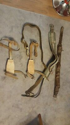 Buckingham Lineman spikes, belt, gear lot