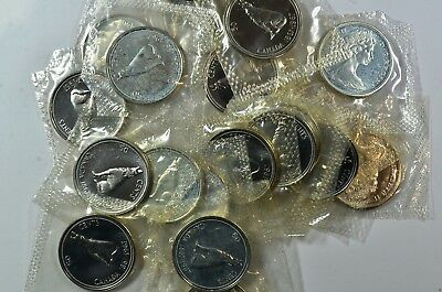 1967 50c Canada Silver Half Dollar Proof Like Roll 20 Coins Free Shipping!