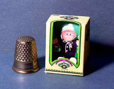 Dollhouse Miniature 1:12 Cabbage Patch Kid Boy Doll Box  dollhouse girl nursery