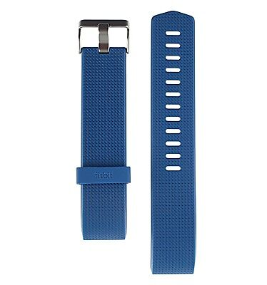 NEW Fitbit Charge 2 Accessory Band Water Resistant Classic Blue Large
