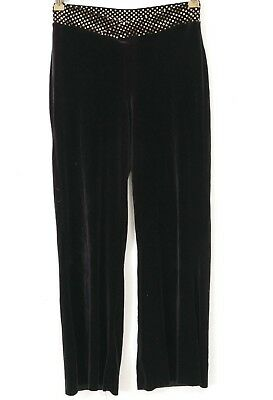 Velvet Dance Pants L Child 12 14 A Wish Came True Working Day Night Gold Waist