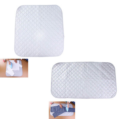 1X(Portable Folding Household Ironing Pads Clothes Ironing Board Cover Mat P7E5