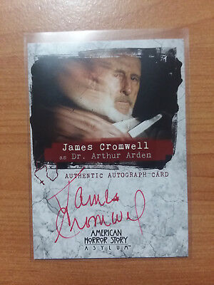 AMERICAN HORROR STORY Asylum Autograph Costume Card AJC James
