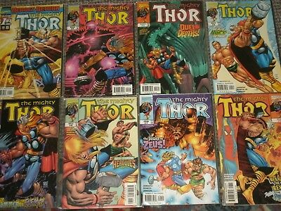 Marvel Comics: THE MIGHTY THOR Vol.2 Asgard, Odin, Avengers, Jane Foster, 1998+