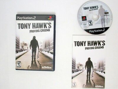 Tony Hawk Proving Ground game for Sony Playstation 2 PS2 -Complete