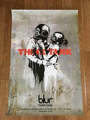 Blur THINK TANK Think tank Promotional Poster Antique Collection Artwork B25