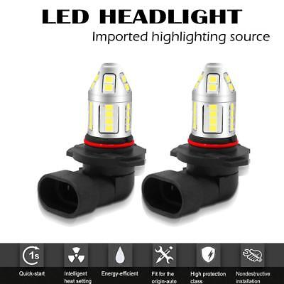 2 x 1200 Lumen White 9005 12276 Led Fog Light Bulbs Driving Fog Lamp
