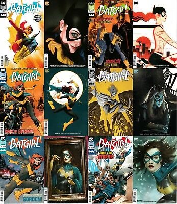 BATGIRL (2016) - Issues #25 to #30 - DC - Standard + Middleton variant covers