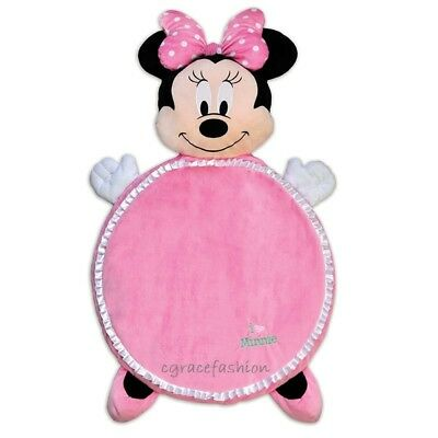 Disney Baby Minnie Mouse Infant Girl Plush Activity Floor Play Mat Playmat Toy