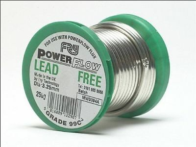 Plumbers Solder Wire Lead Free plumbing  3.2mm thick Sold By Length