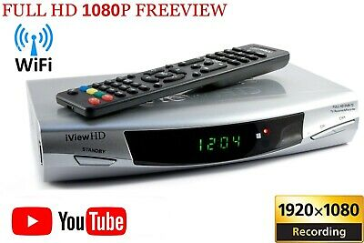 New FULL HD Freeview WiFi Receiver Tuner 1080P Recorder DIGITAL TV Set Top Box