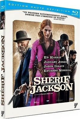 [Blu-ray] Shérif Jackson  [ Ed Harris, January Jones, Jason Isaacs ] NEUF cello.