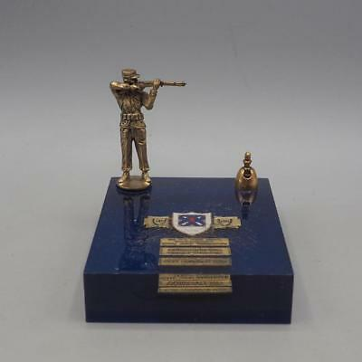 Vintage Us Army Corps Commander's Small Arms Tournament Meisterschaft Pokal