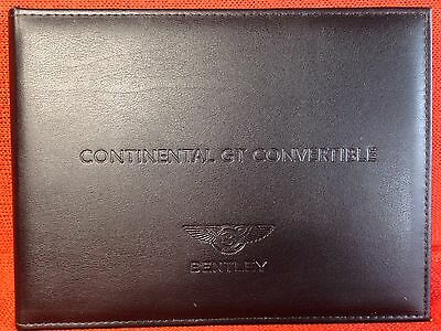 2014 2015 Bentley Continental Gt Convertible Gt Speed Gt V8 S Owners Manual Navi