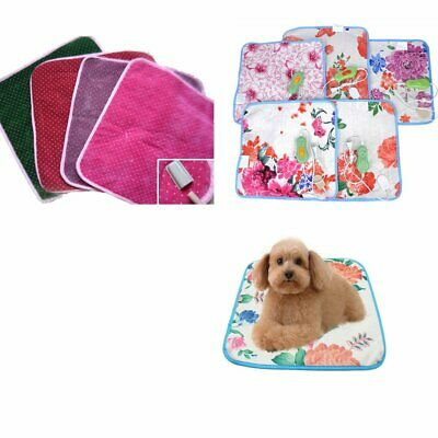 2018 New Pet Electric Heat Heated Heating Heater Pad Mat Blanket Bed Dog Cat HU