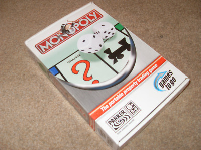 Monopoly The Portable Property Trading Travel Game From Hasbro
