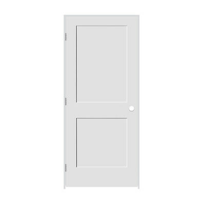 """Trimlite 3068138-8402RH26D6916 36"""" by 80"""" Shaker 2 Panel Right Handed Interior P"""
