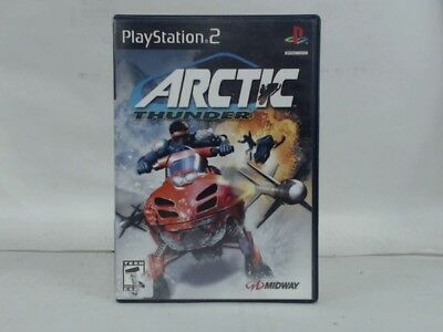 Arctic Thunder Playstation 2 Ps2 Complete In Box W/ Manual Cib Very Good