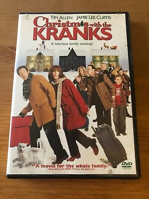 Christmas with the Kranks Tim Allen Jamie Lee Curtis comedy family dvd