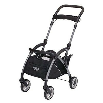 Graco Stroller Frame Infant Car Seat Cart Lightweight Aluminum Portable Black