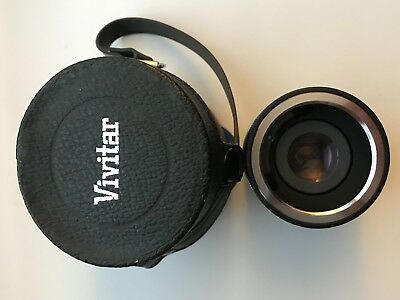 Vivitar Auto Tele Converter 3X-1 w Carry Case Made in Japan-Pre-Own-Excel Condit
