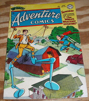 Adventure Comics #179 comic book very good/fine 5.0