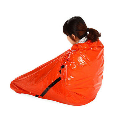 US Hot Orange Sleeping Bag Liner Travel Sleep Sack Sheet Hiking Camping Tent Mat