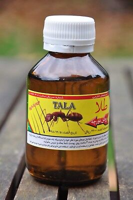 TALA Ant Egg Oil 100 ML -3.52 Oz.- BIG BOTTLE Organic HAIR REDUCEING Authentic