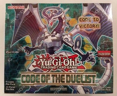 Yugioh Code Of The Duelist 1st Edition English New Sealed Booster Box