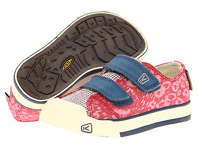 sports shoes b3ab5 a5d5d NWOB Keen Kids Sula Ensign Blue Pink Canvas Shoes Size 10 11 12 13 45