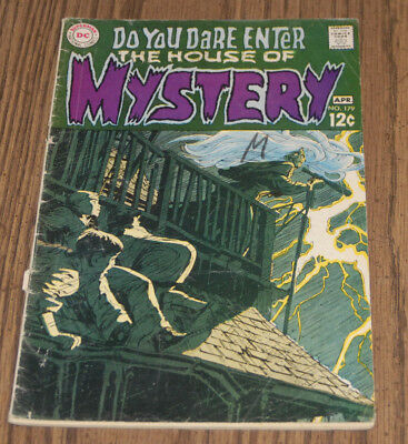 Bernie Wrightson 1969 House of Mstery 179 1st Professional Work Comic Book HOM !
