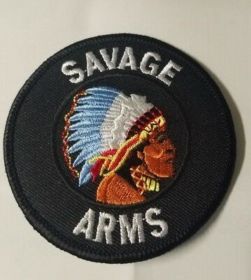 savage arms firearm indian chief embroidered logo patch hunt gun rh picclick com Indian Chief Motorcycle Logo Indian Mascots and Logos