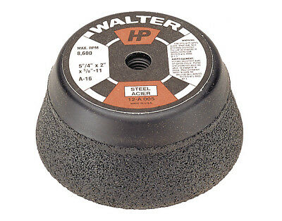 NEW Walter 5in HP Cup Grinding Wheel for steel (6 pack)