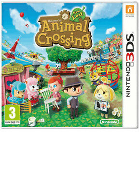 Animal Crossing New Leaf Nintendo 3Ds New Fast Delivery!