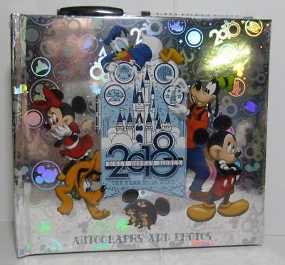 NEW 2018 Walt Disney World The Year To Be Here Autographs and Photos Album & Pen