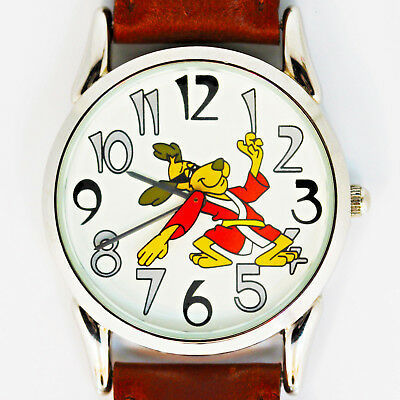 Judo Hong Kong Phooey, Warner Bros Fossil, Unworn Collectible Vintage Rare Watch