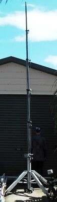 Mast Aluminium telescopic extendable tripod for photography radio HAM antenna