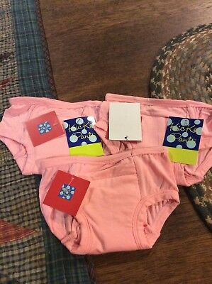 NWT Kickee Pants 3 Pair Toddler Girls Training Underwear...size 2-3