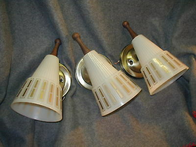 VTG 60s SPUTNIK SPACE AGE SHADE MCM MODERN WALL SCONCE LIGHT LAMP FIXTURE