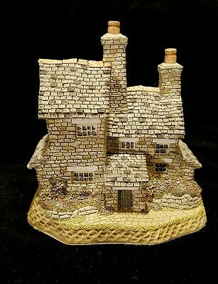 David Winter British Traditions STONECUTTERS COTTAGE *MIB* RETIRED HAND SIGNED!!