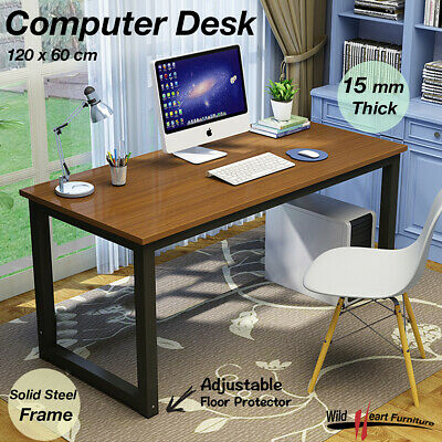 Computer Desk Study Office Storage OAK PC Laptop Table Student Home Writing Tabl